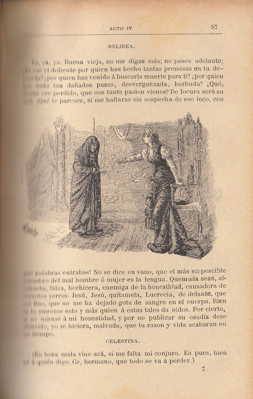 Second illustration of act IV from the Barcelona edition (1883)