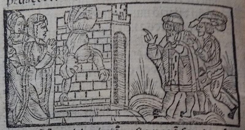 Illustration of act 22 of Medina del Campo, 1530<br /> <br />