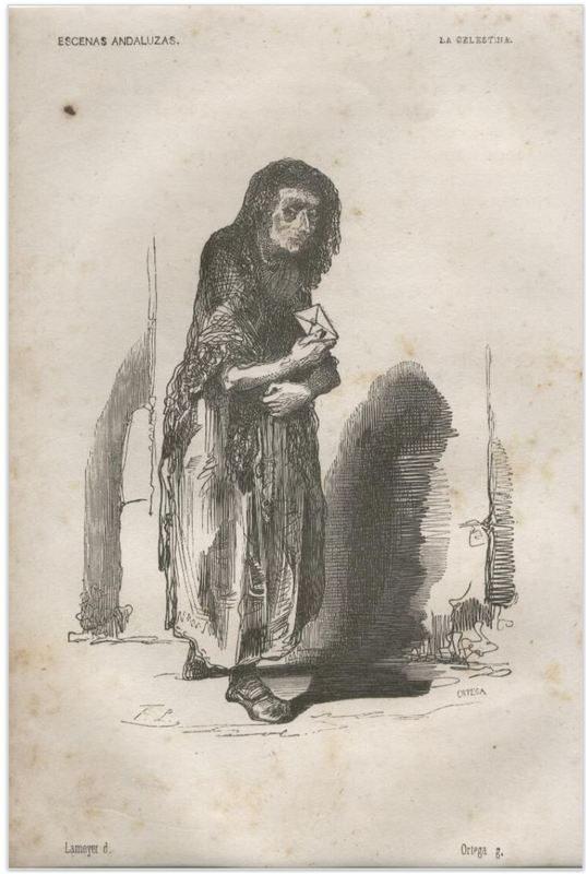 La Celestina by Lameyer y Berenguer, (1847)