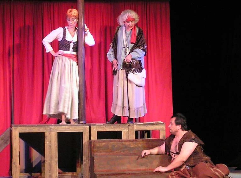 Representación del Teatro NaKop Tyjátr, Jihlava, Chequia, de Soumar (2008-2009)