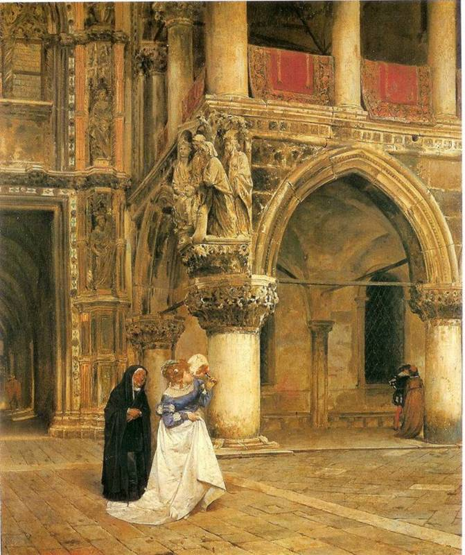 Confabulation, by Peralta del Campo (1873)