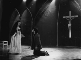 Representation Fantastic tragedy of the gypsy Celestina, Barcelona, by Flores (1985)