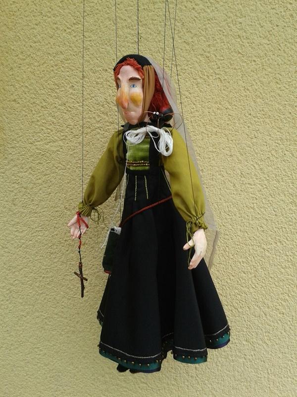 Celestina puppet, by Seoane (2017)