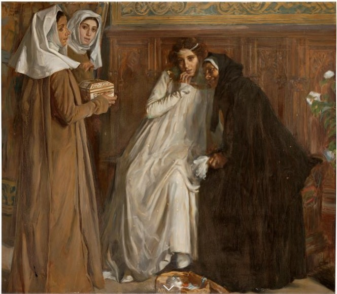 Old Celestina (Vieja Celestina), by Alberti i Barceló (1908)