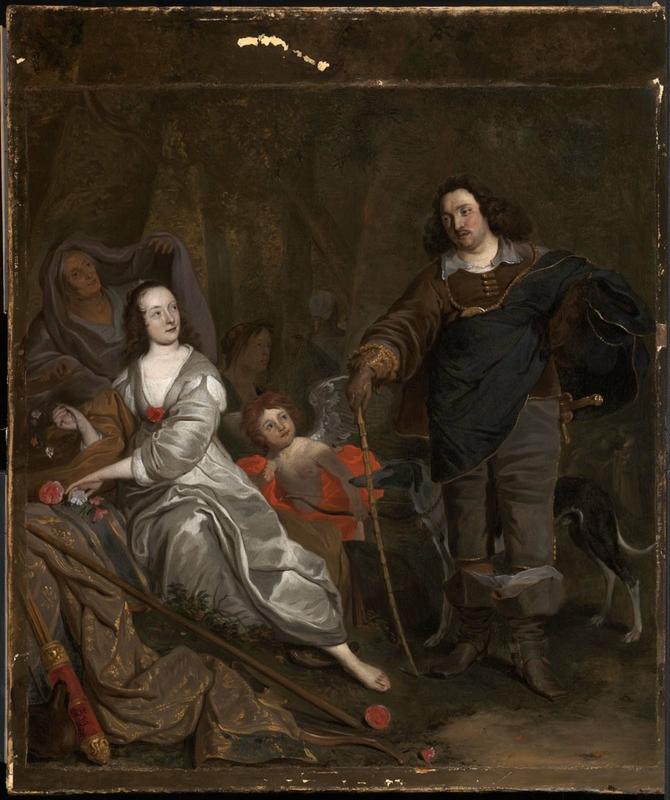 Don Juan y Constanza, de Adriaensz Backer (c. 1650)