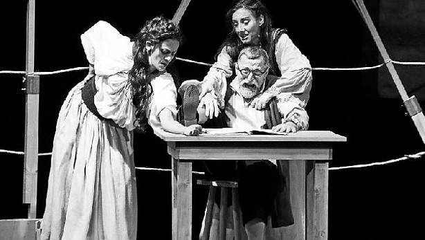 Representación del Festival de Teatro Clásico, Olite, 2014