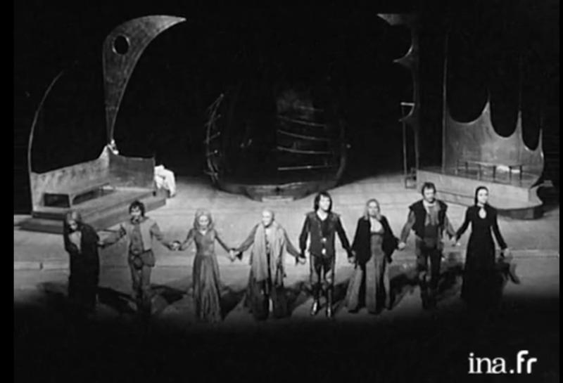 Representación del Grand Théâtre de Limoges, Francia, de Gillibert (1977)