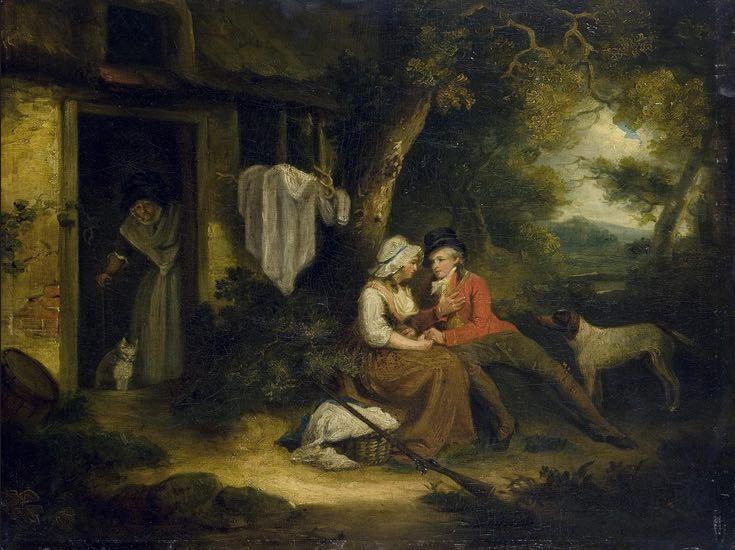 Deportista enamorado, de Smith (1790 c.)