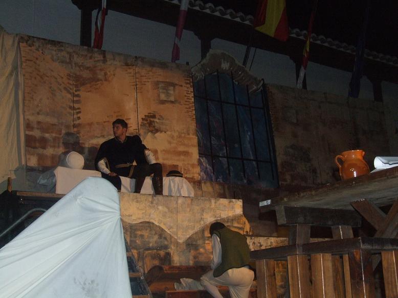 Representación del Festival Celestina, la Puebla de Montalbán, 2012