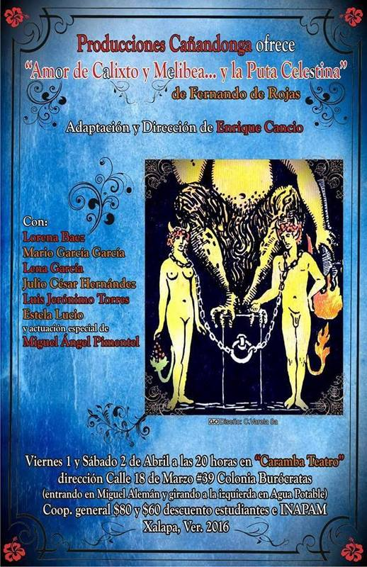 Representación del Caramba Teatro, Xalapa, 2016