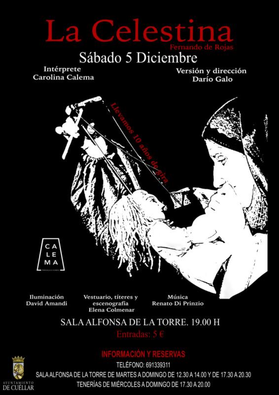 """Representation of """"La Celestina"""" in Cuéllar (2020)"""
