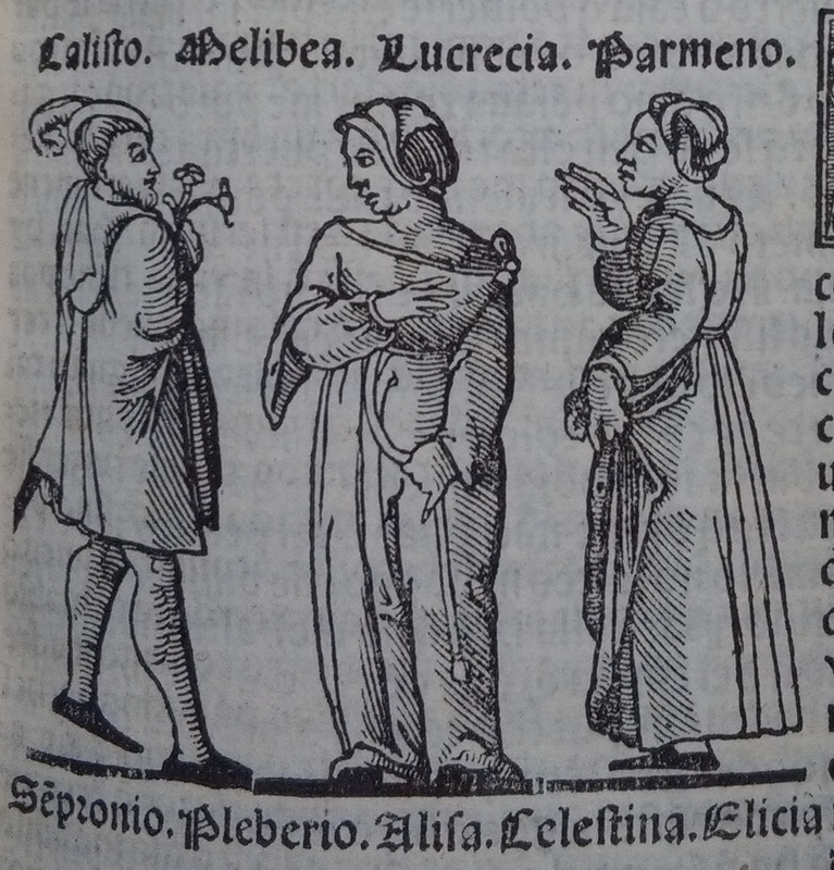 First image of act 12 of the edition of Lisbon (1540)