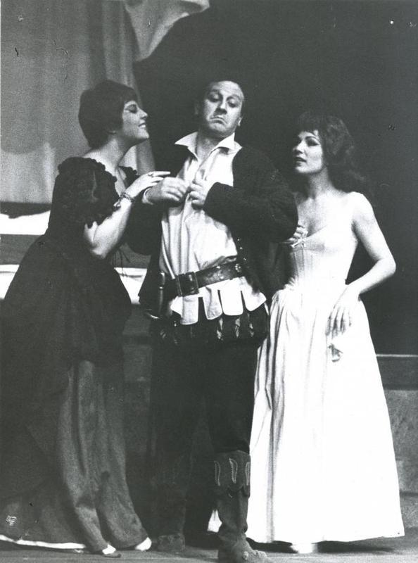 Representation of the Stabile Theater, Torino, 1961-1962