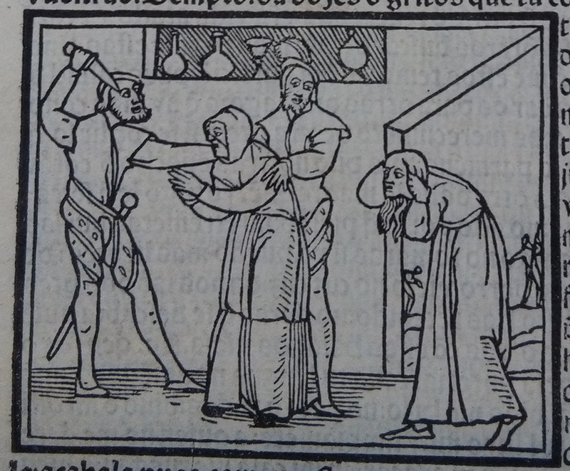 Second image of act 12 of the edition of Lisbon (1540)