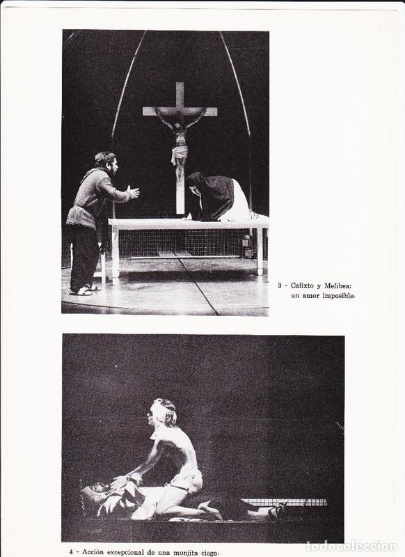 Representación de la Sala Villarroel, Barcelona, 1985