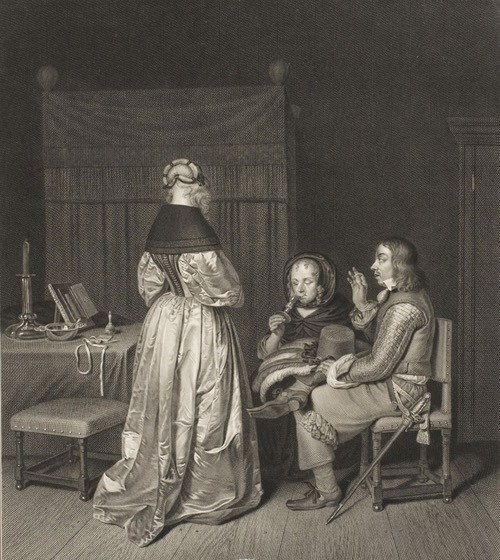Consejo paternal, de Wille (1765)