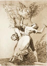 No hay quien nos desate, de Goya (1797)