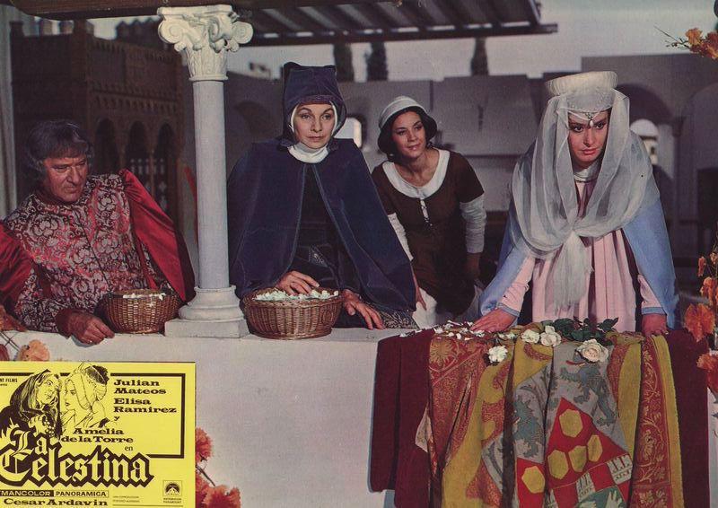 Photochrome 5 from the movie La Celestina, by Ardavín