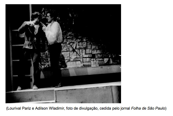 Representación del Teatro Novo, Porto Alegre, Brasil, de Ziembinski (1969)