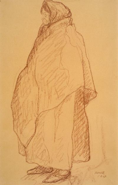 La proxeneta, de Nonell (1909)