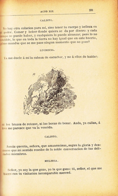 Second illustration of act XIX from the Barcelona edition (1883)