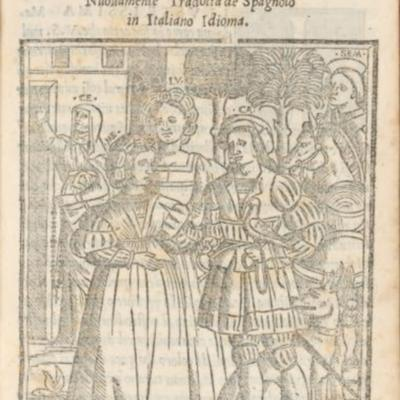 Cover of the Venice edition, 1543.