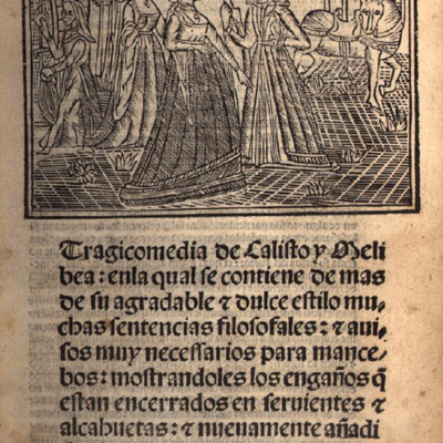 Cover of the Seville edition, 1513-15 (1502).