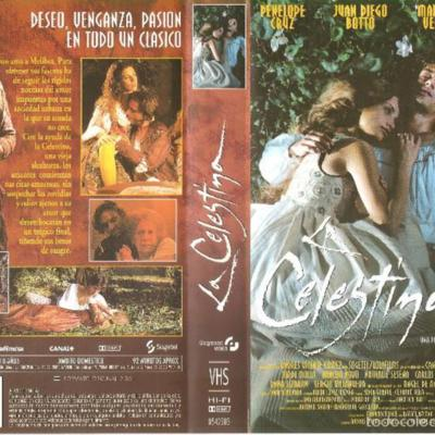 VHScase of the movieLa Celestina, byVera (1996)