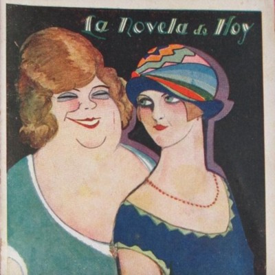 Provenza Street (La calle de Provenza), cover of the Novela de hoy edition (1928)