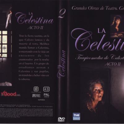 DVD case of act II of La Celestina, by Guerrero.