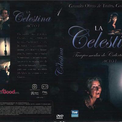 DVD case of act I of La Celestina, by Guerrero.