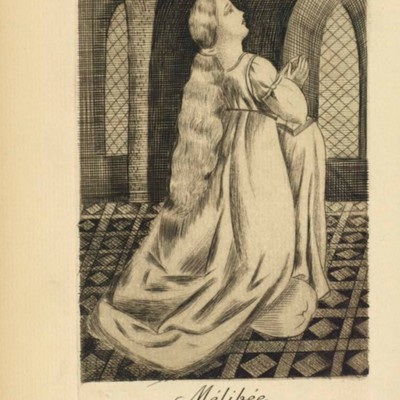 Illustration of act I of the Paris edition (1922)