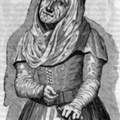 La Celestina, Semanario Pintoresco Español, engraving by Marquelain (1836)