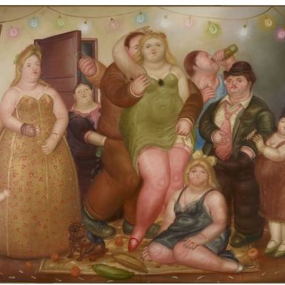 The house of Raquel Vega by Botero, (1975)