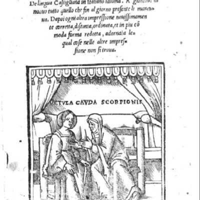Cover of the Venice edition, 1535.