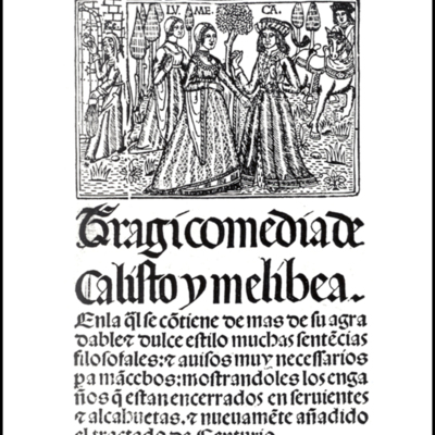 Cover of the Seville edition, 1511 (1502).