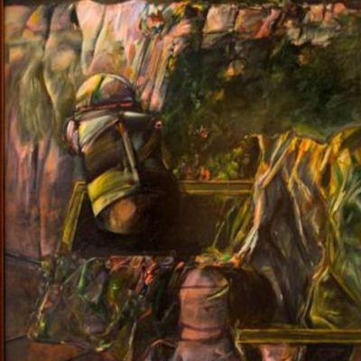 Melibea's garden, by Pelayo (1986)