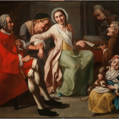 The concert, by Traversi (1750, c.)