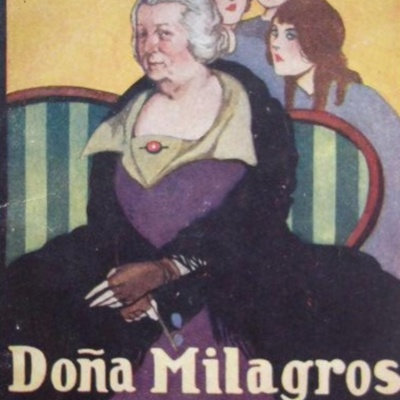 Lady Milagros (Doña Milagros), cover of La novela de hoy (1925 c.)
