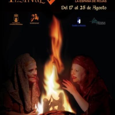 Poster of the Festival of La Celestina, Puebla de Montalbán (2019) and previous years