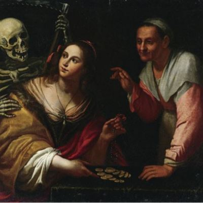 Vanitas, Allegory Of The Ages, by Martinelli (1650, c.)