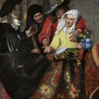 De koppelaarster (la alcahueta), de Vermeer (1656)