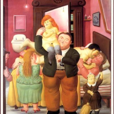 House of Amanda Ramirez, by Botero (1988)