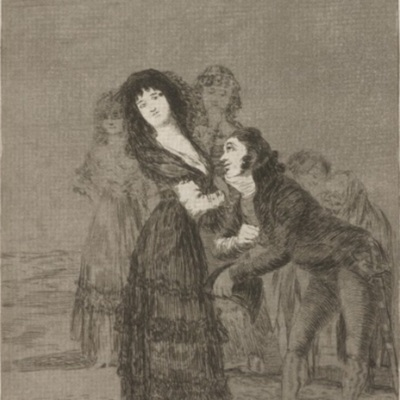Which of Them Is the More Overcome?, by Goya 1799