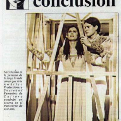 Representación del Teatro Centro de Arte/ Arte-América, Guayaquil, 1995