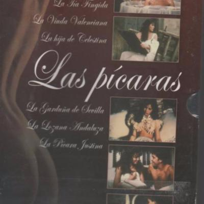DVD cover ofThe Swindlers (Las Pícaras),by TVE (1983)
