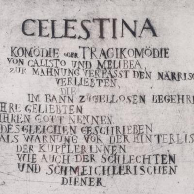 Illustrations for La Celestina, by Quevedo (1967)