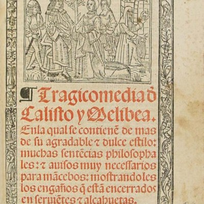 Cover of the Burgos edition, 1531.