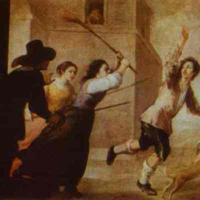 The Prodigal Son Driven Out, by Murillo (1660, c.)