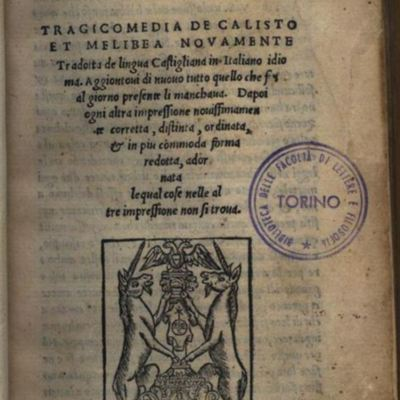 Cover of the Venice edition, 1525.